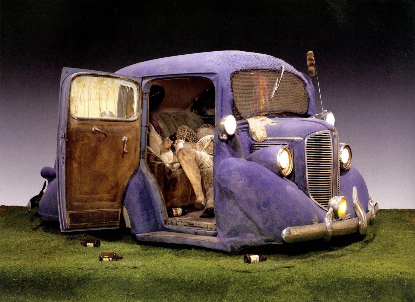 Back seat dodge 38 edward kienholz sartle see art differently