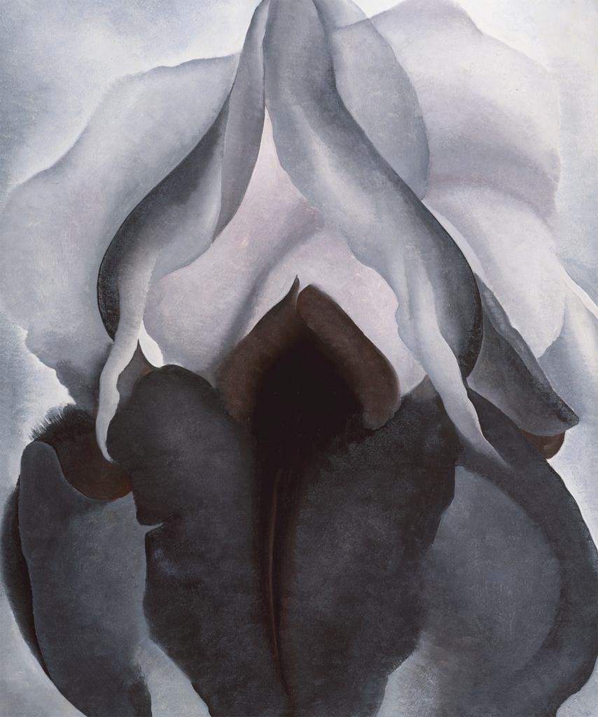 Black iris georgia okeeffe sartle rogue art history black iris disclaimer izmirmasajfo