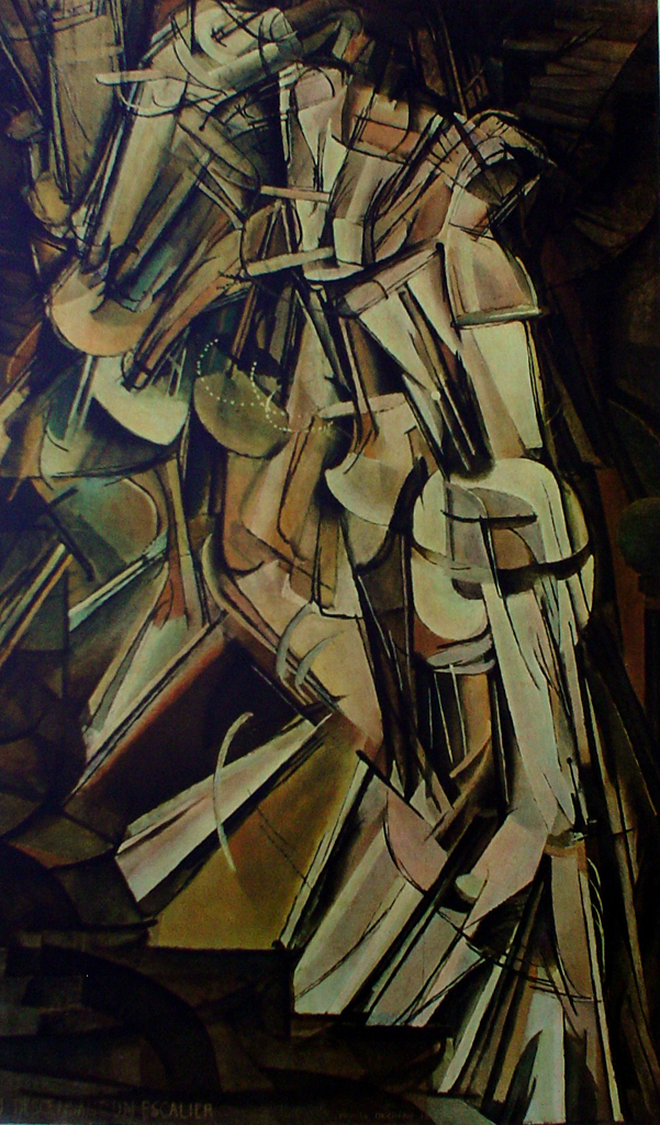 Duchamp nude decending a staircase