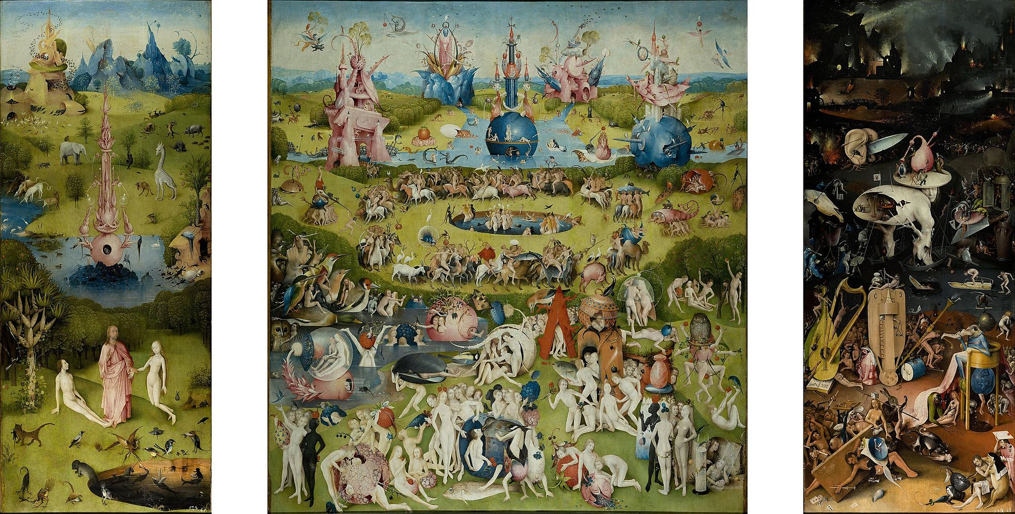The Garden of Earthly Delights [Hieronymus Bosch]