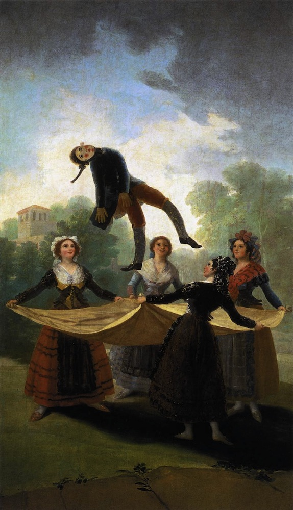 The Straw Manikin Francisco Goya Sartle Rogue Art History - Francisco goya paintings