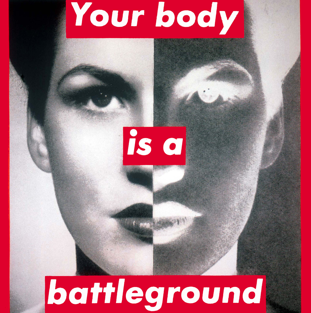 untitled your body is a barbara kruger sartle see art differently