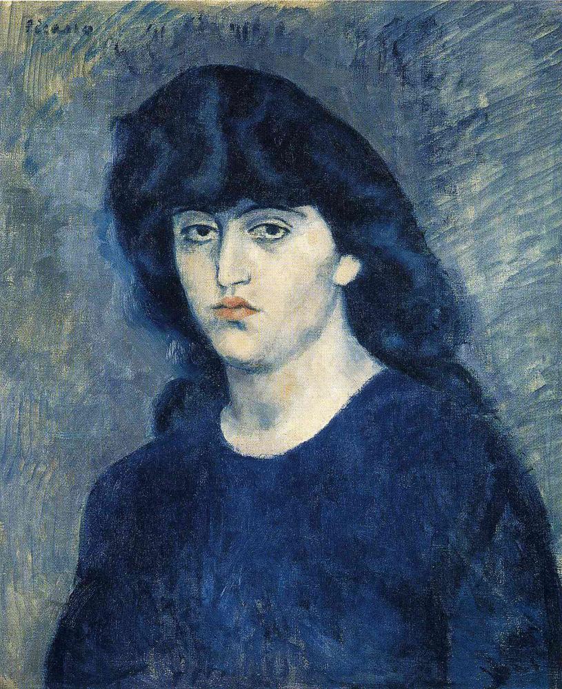 Portrait of Suzanne Bloch [Pablo Picasso] | Sartle - See ...