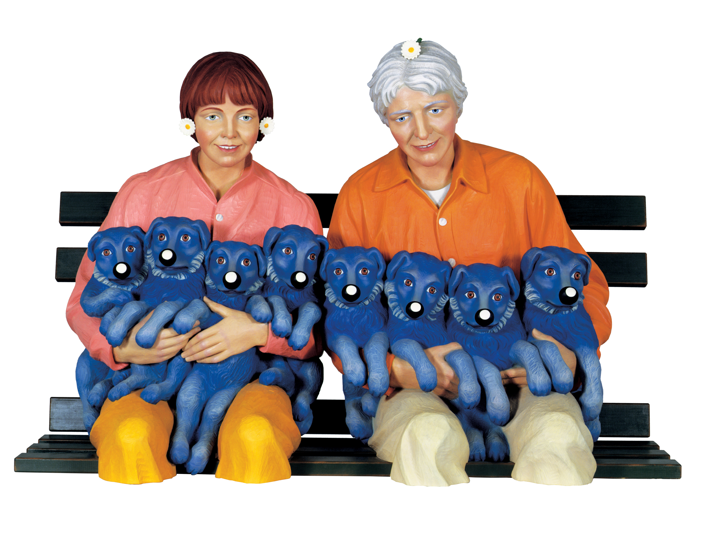 string of puppies jeff koons sartle see art differently. Black Bedroom Furniture Sets. Home Design Ideas