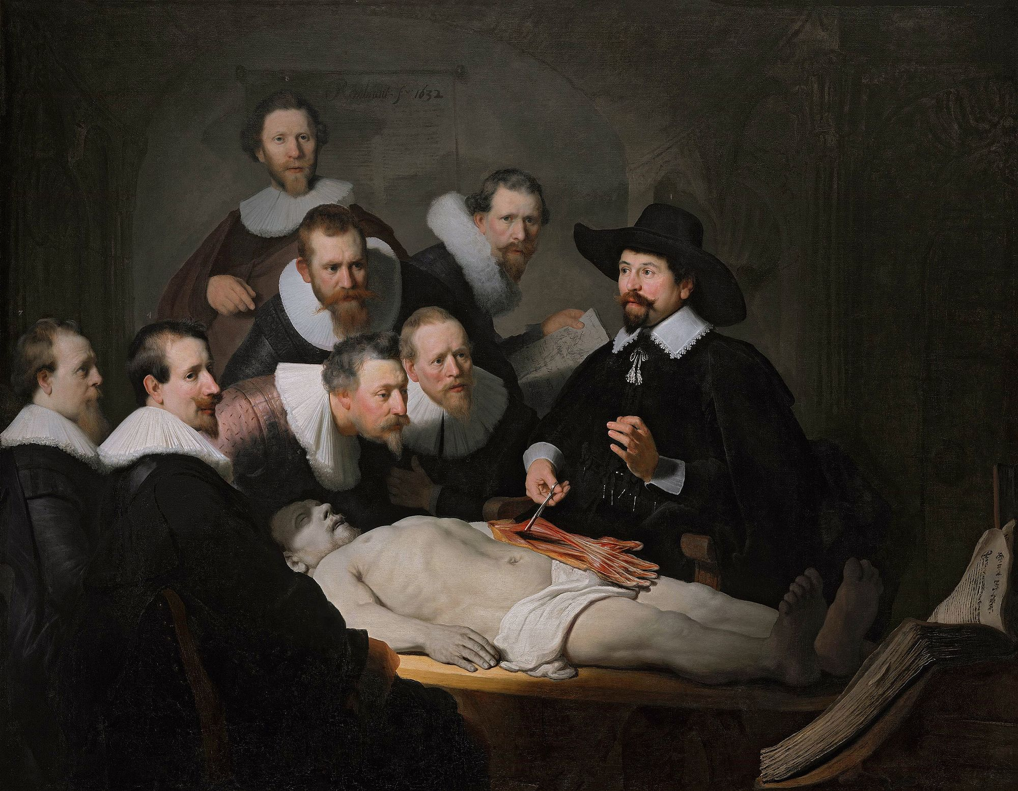 The Anatomy Lesson of Dr. Nicolaes Tulp [Rembrandt] | Sartle - Rogue ...
