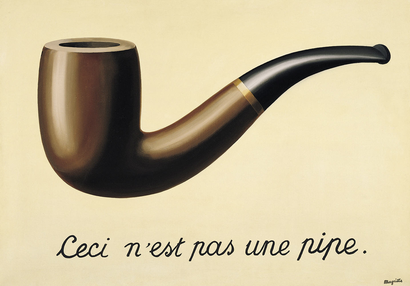 Magritte Treachery Of Images