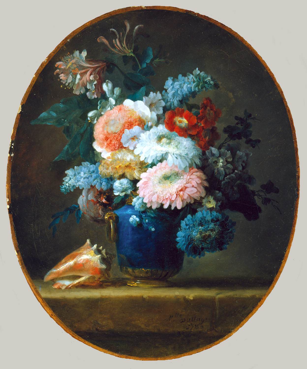 Vase of flowers and conch shell anne vallayer coster sartle vase of flowers and conch shell anne vallayer coster reviewsmspy