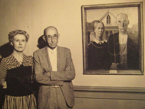 Weve All Seen American Gothic Or Heard The Title At Very Least Its Subject Of Satire And Costume Attire Everywhere Remains A Mainstay Any